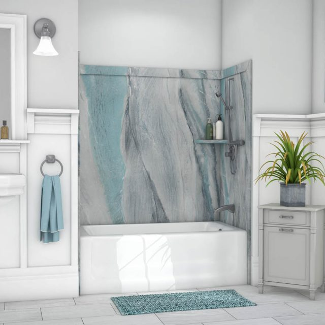 Elite 3-Wall Tub Kit